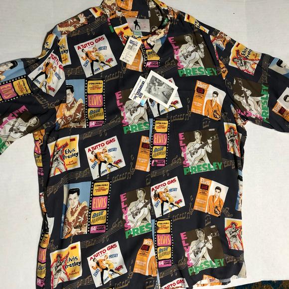 ef755568 Reyn Spooner Shirts | Nwt Elvis Presley Limited Edition | Poshmark